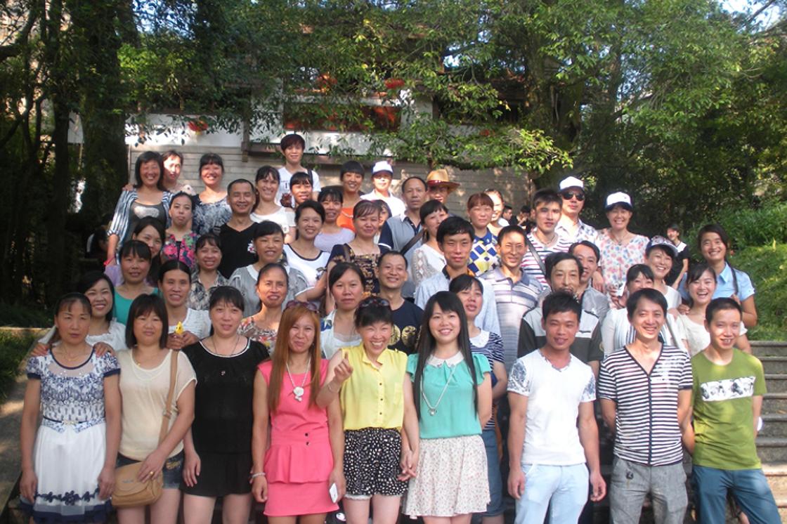 公司组织员工武夷山旅游