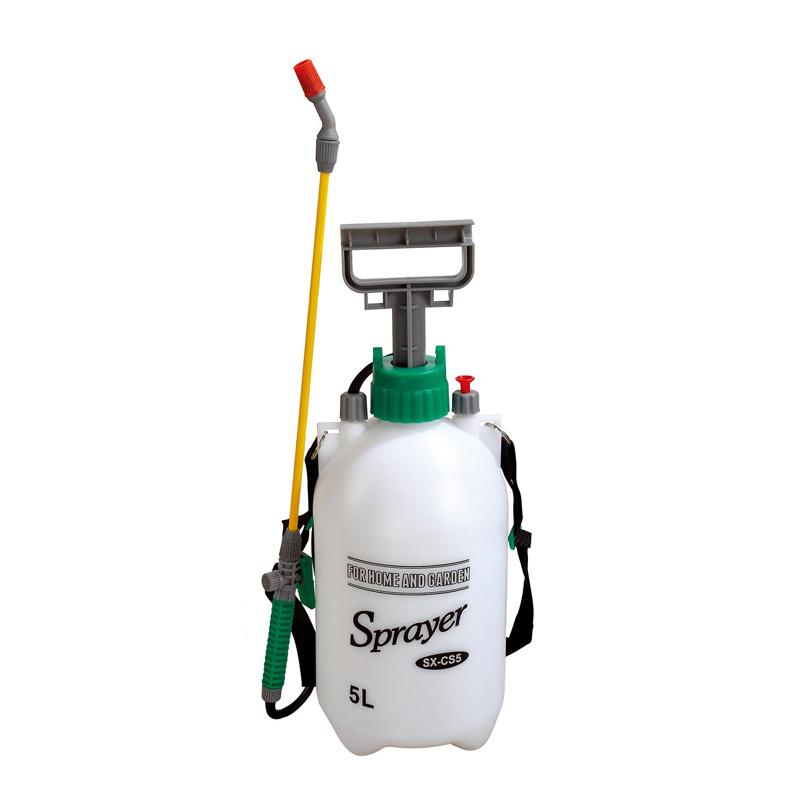 市下5L手动气压喷雾器 专业验厂洗眼器 园艺浇花浇水洗车塑料喷壶