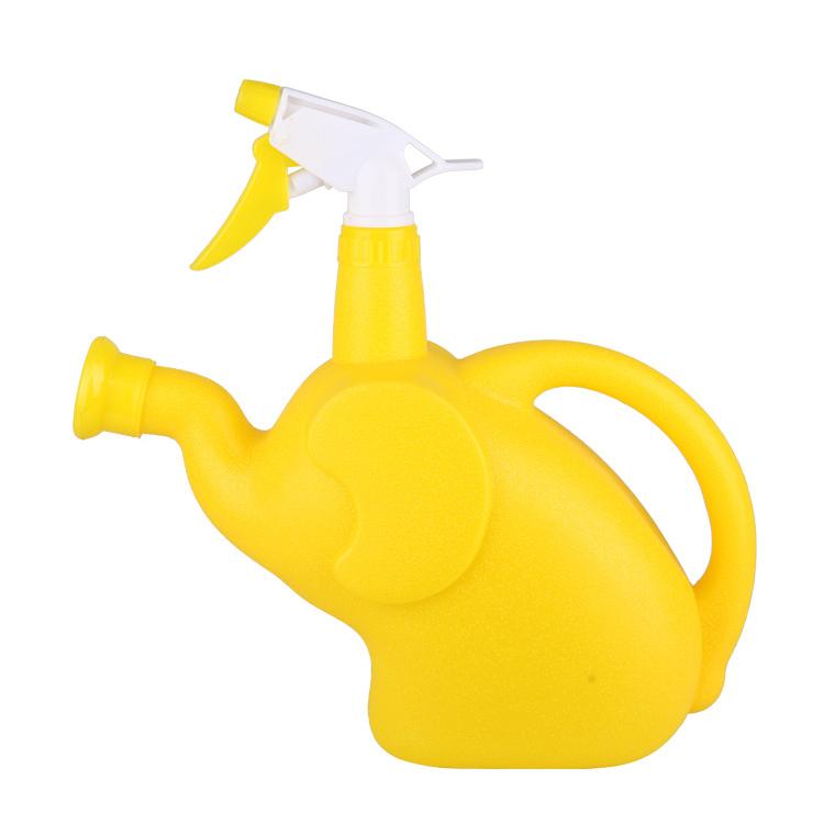 市下园艺气压洒水壶喷壶 喷洒两用塑料喷水壶 卡通水壶