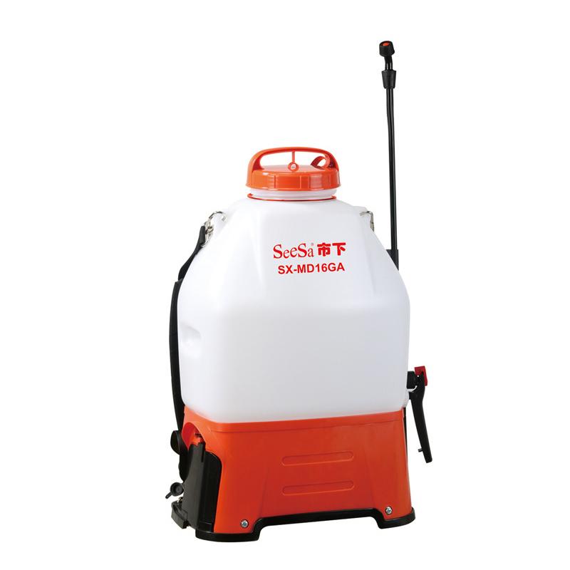 市下16L农用喷药机 消杀防疫园艺园林打药机 背负式电动喷雾器