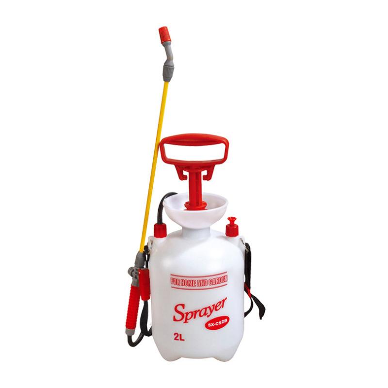 市下2L手动园艺气压喷雾器 喷水浇花洒水喷雾器 肩负式气压喷壶