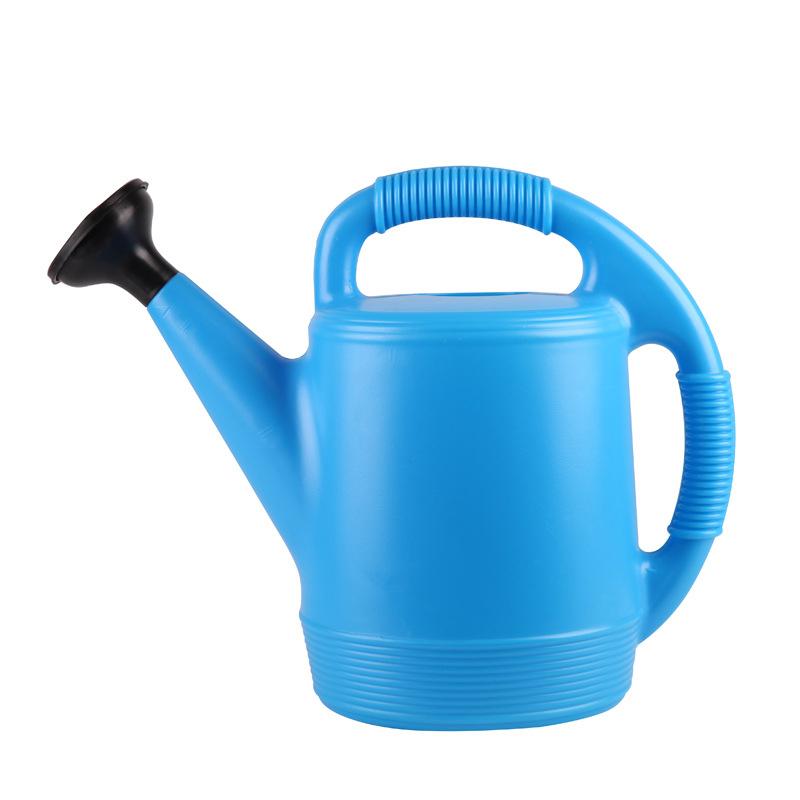 市下新款塑料洒水壶 5L7L手提式浇花壶家用清洁保湿洒水壶