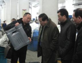中国农机推广总站,丁翔文站长莅临市下指导工作