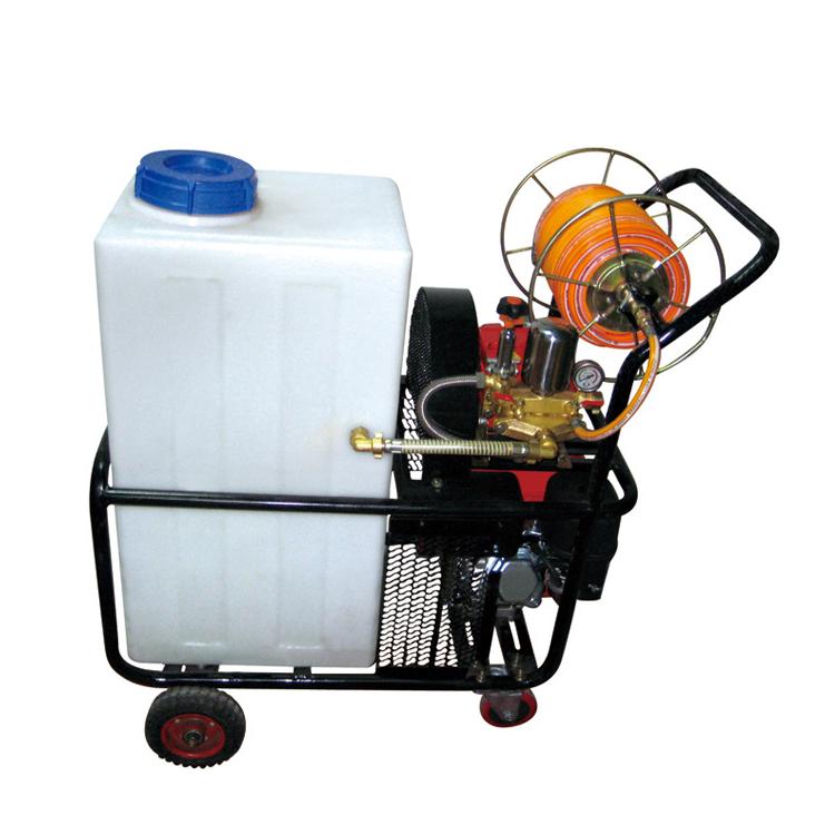市下牌手推式汽油打药机消杀防疫园林农用果园打药机自走式喷雾器