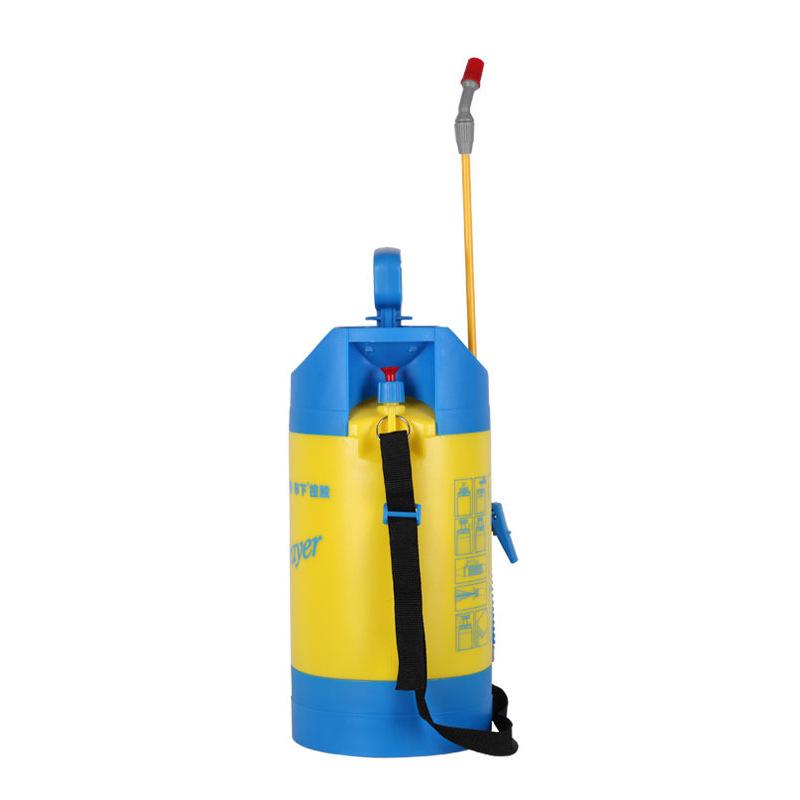 市下5L园艺花卉浇花浇水喷壶 手动气压手压喷水壶 清洁洗车喷壶