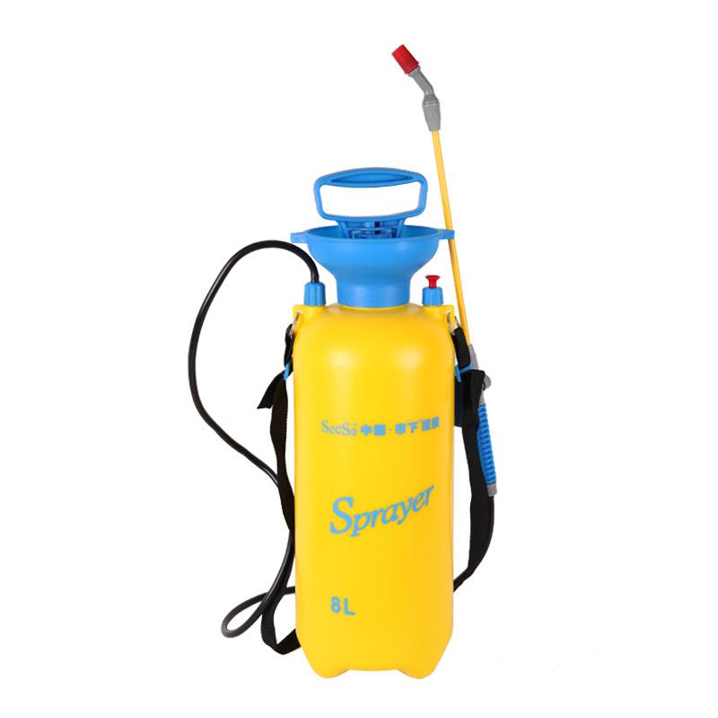 市下8L家用气压手动浇花洒水壶园艺工具花卉喷水浇水壶洗车喷雾器