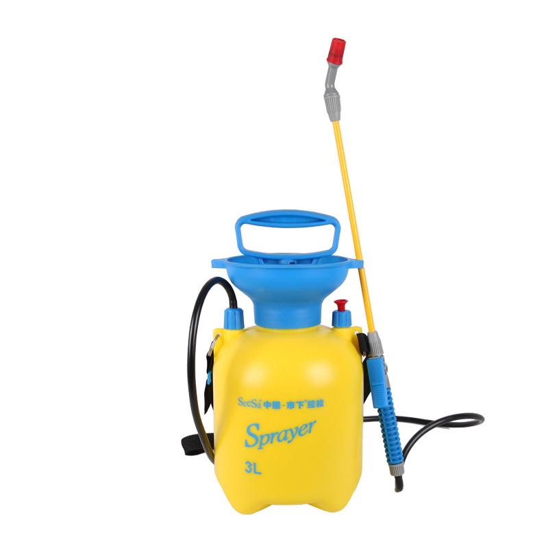 市下3L家用气压手动喷水壶 保湿浇花洒水园艺工具 手压喷壶喷雾器