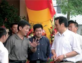 台州市徐副市长与董事长一起亲切交谈