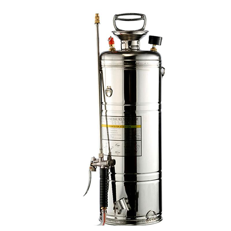 15L不锈钢喷雾器 气压式手动高压喷壶 家用浇水浇花喷雾器
