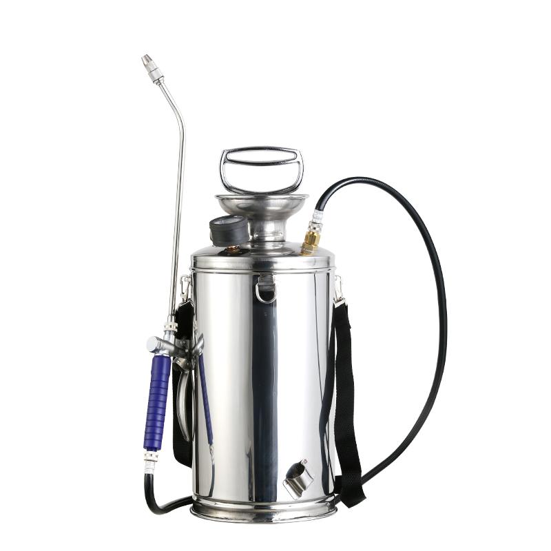 不锈钢气压式喷雾器喷农药洗空调玻璃高压洗车浇花农用喷药打药机