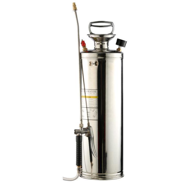 10L喷雾器 不锈钢气压式喷壶 农用家用园艺喷雾喷雾器